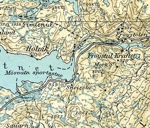 gamle kart over eiendommer Kartlegging på Rjukan gjennom tidene   historiske kart | Bygg og  gamle kart over eiendommer