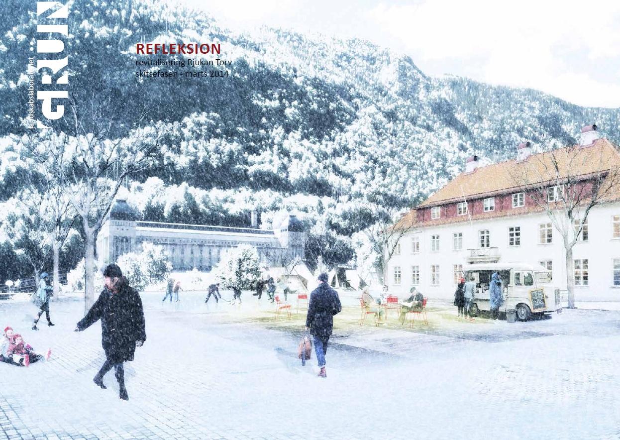 Skisseprosjekt Rjukan torg